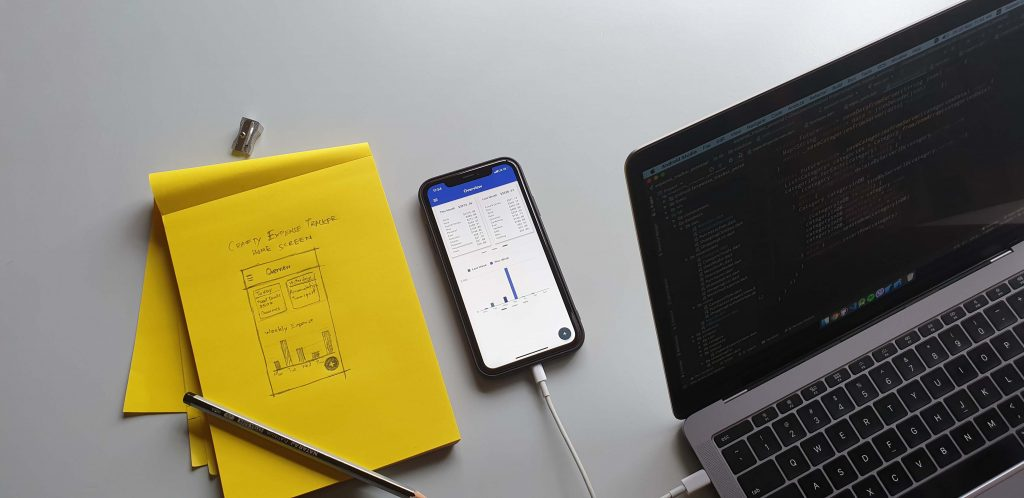 Native iOS and Android App Crafty Expense Tracker