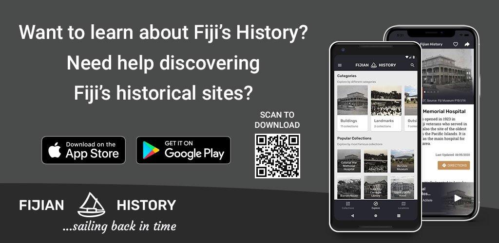 Fijian History Banner